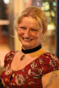Kristina Haidingerová, frekventantka kurzu Sexy pravopis, září 2017