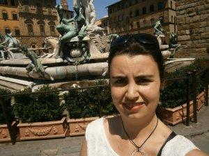 Marianna Gorronova, frekventantka kurzu Sexy pravopis, září 2017