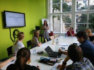 Pravopisný HUB Share, Impact HUB Praha, srpen 2017
